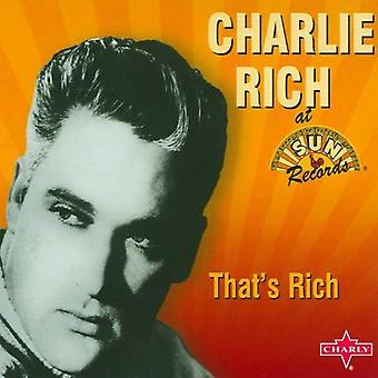 Charlie Rich - That's Rich [CD] USA import