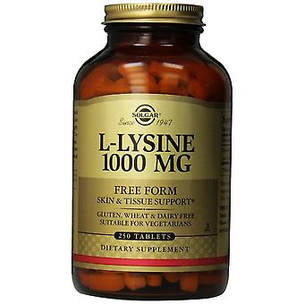 Solgar L-Lysine 1000 mg tabletter 250ct