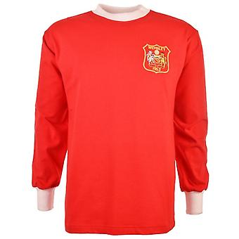 Manchester United 1963 FA Cup finale Retro voetbalshirt