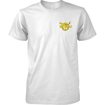 Navy Seal Gold Insignia - US Naval Special Forces - Mens Chest Design T-Shirt