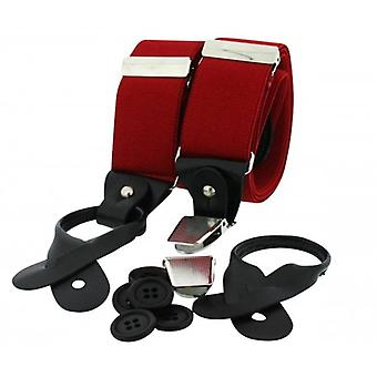 David Van Hagen Luxury Brace - Red