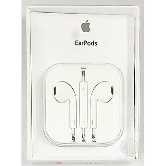 Original blister Apple MD827, A1472 EarPods Headset Headphone with remote control