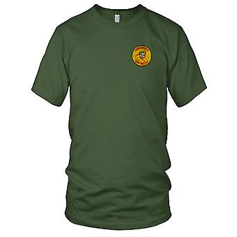 CCC Recon Team ANACONDA - US Army MACV-SOG SF Gp - Yellow Vietnam War Embroidered Patch - Ladies T Shirt