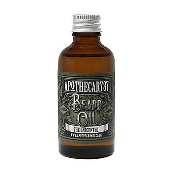 Apothecary 87 The Unscented Beard Oil Large 50ml