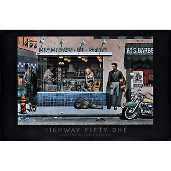 Highway 51 - Chris Consani Poster Poster Print