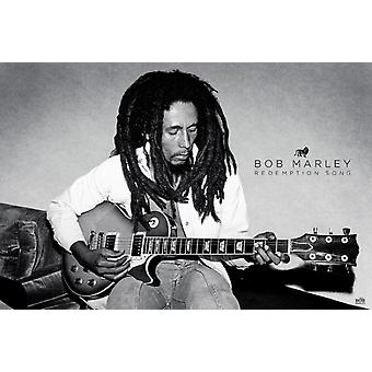 Bob Marley - Redemption Song Poster Poster Print