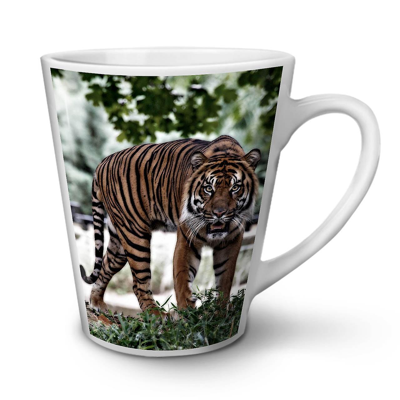 Sauvage Blanche Tigre Nature Latte Céramique Nouvelle OzWellcoda 12 Café Tasse En vNmOnw80
