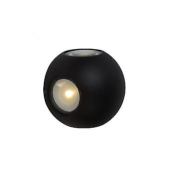 Lucide YUPLA Wall Light LED 4x2W IP65 3000K Black