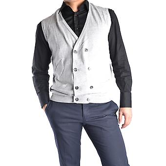 Massimo Rebecchi men's MCBI203009O grey cotton vest