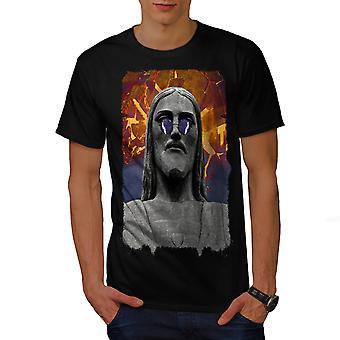 Jesus stilfulde Art mænd BlackT-skjorte | Wellcoda