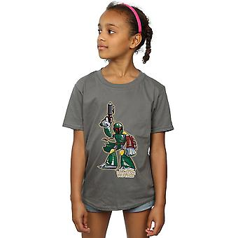 Star Wars Girls Boba Fett Character T-Shirt