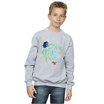 Camisola de aventura Disney meninos encontrar Dory oceano