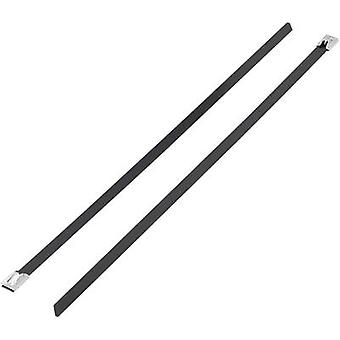 Cable tie 300 mm Black Coated KSS 1091213