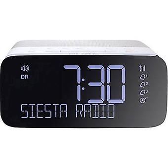 DAB+ Radio alarm clock Pure DAB+, FM, USB White, Black