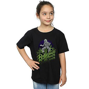 Beetlejuice Girls Faded Pose T-Shirt