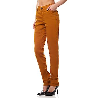 ARIZONA women's jeans long size yellow
