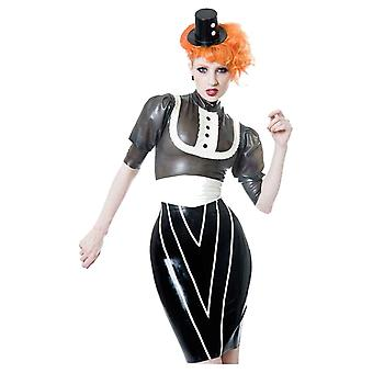 Westward Bound Vendetta Pencil Latex Rubber Skirt