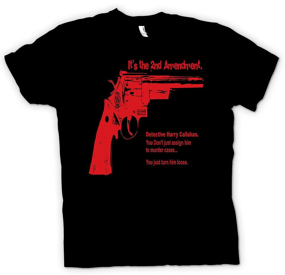 Mens T-shirt - Dirty Harry 44 Magnum - Movie