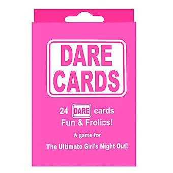 24 Dare Cards Hen Party Girls Night Games Hen Night Accessory Part Bag Filler