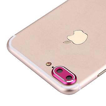 Camera protection protector ring for Apple iPhone 7 plus pink