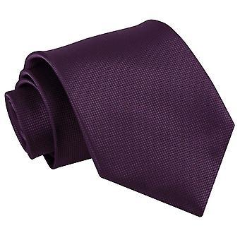 Cadbury púrpura sólida seleção clássico gravata