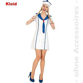 Sailor costume ladies Seefaherin Leichtmatrose Lady costume