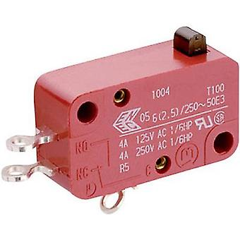 Marquardt Microswitch 1005.1105 250 V AC 10 A 1 x On/(Off) momentary 1 pc(s)