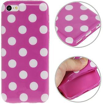 携帯電話 iPhone 5c 用保護ケース。