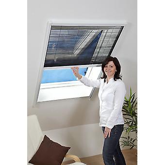 Latać siatki komara ochrona ochrona przed owadami dach okna arkusza 80 x 160 cm w kolorze brązowym
