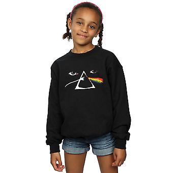 Pink Floyd Girls Face Prism Sweatshirt