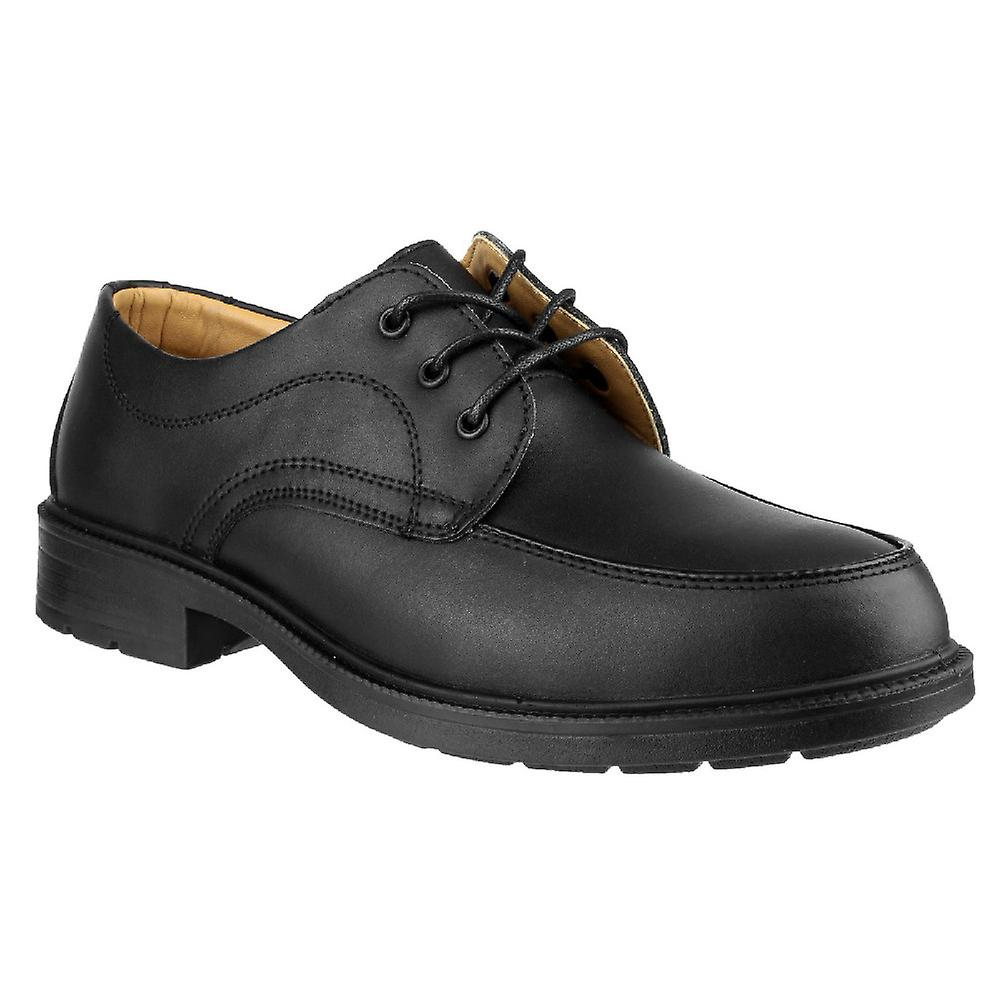 Amblers Mens FS65 Leather Safety Gibson Steel Toe Leather FS65 Oxford Shoe S1-P-SRC bd990c
