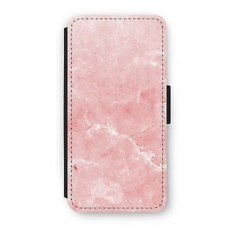 Samsung Galaxy S9 Plus Flip Case - Pink Marble