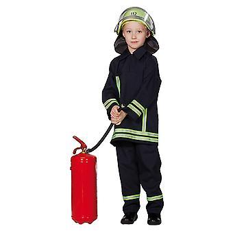 Fireman costume 2-piece for children