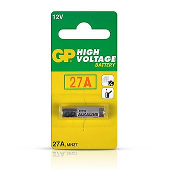 Value Range GP 27A Non-rechargeable Alkaline General Purpose Battery 27A (MN27)