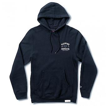 Diamond Supply Co sportliche Hoodie Navy