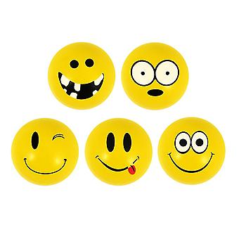6-Pack Smiley Emoticons Small Super Bouncy Balls Play ball games