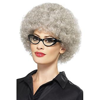 Granny Perm Wig, One Size