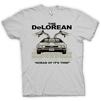 Kids T-shirt - DeLorean - Ahead Of Its Time