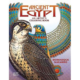Ancient Egypt - An Artist's Coloring Book - Explore - Color - & Reveal