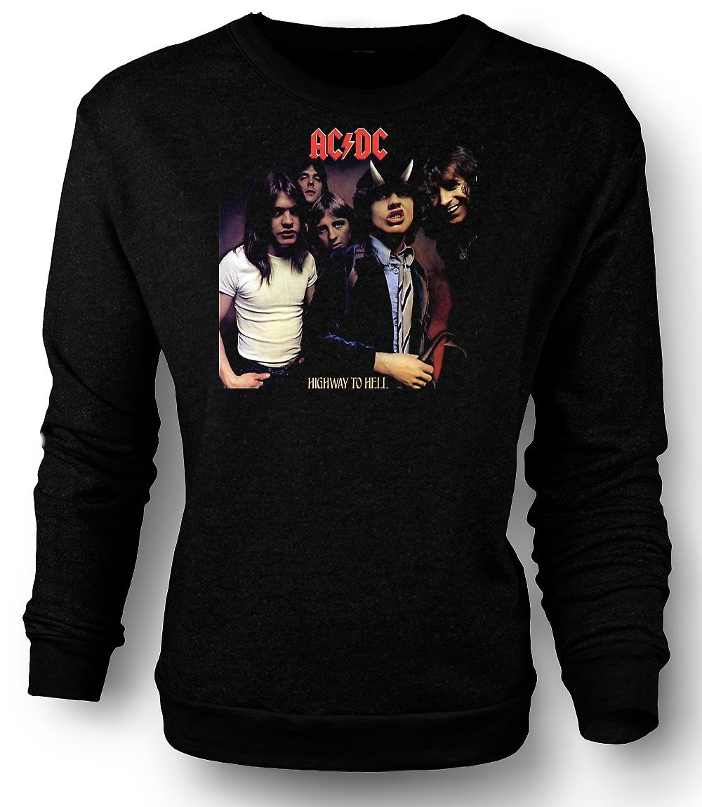 Mens Sweatshirt AC/DC Highway To Hell - Band