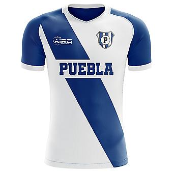 2019-2020 Puebla Home Concept Football Shirt - Womens