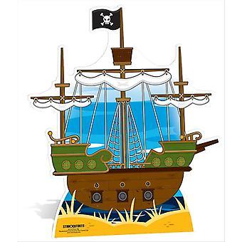 Piracki statek duży karton wyłącznik / Standee