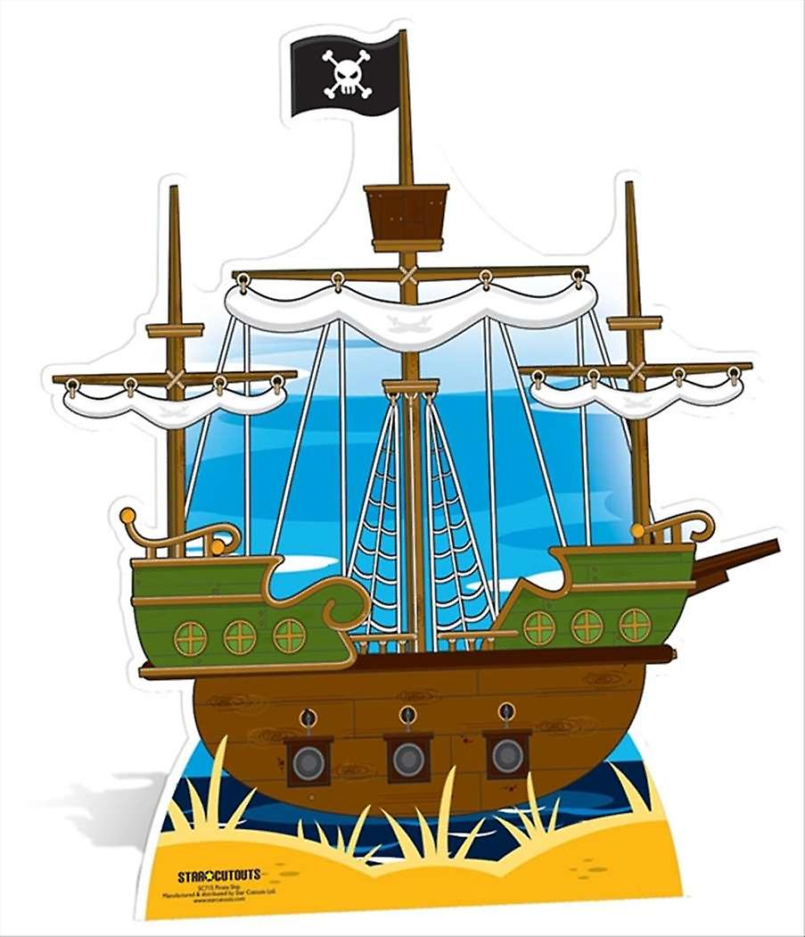 Pirate Ship Large Cardboard Cutout / Standee