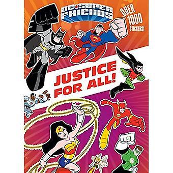 Rättvisa för alla! (DC Super vänner) (Färg Plus 1000 klistermärken)