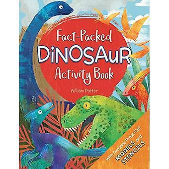 Cahier d'activités fait bourré de dinosaure