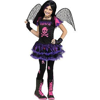 Skull Fairy Child Costume