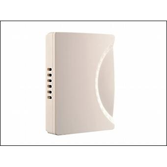 779 WIRED WALL MOUNTED CHIME IN WHITE 150MM