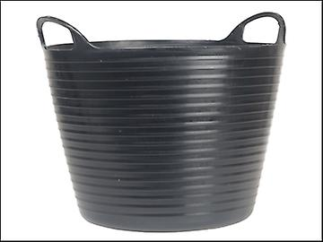 Faithfull Heavy-Duty Polyethylene Flex Tub 60 Litres Black