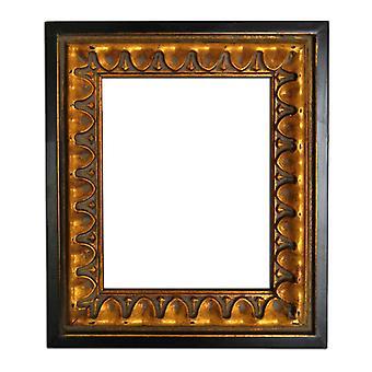 27x32 cm eller 10x12 tum, spegel i guld