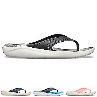 Unisex Adults Crocs LiteRide Flip Beach Lightweight Shower Flip Flops